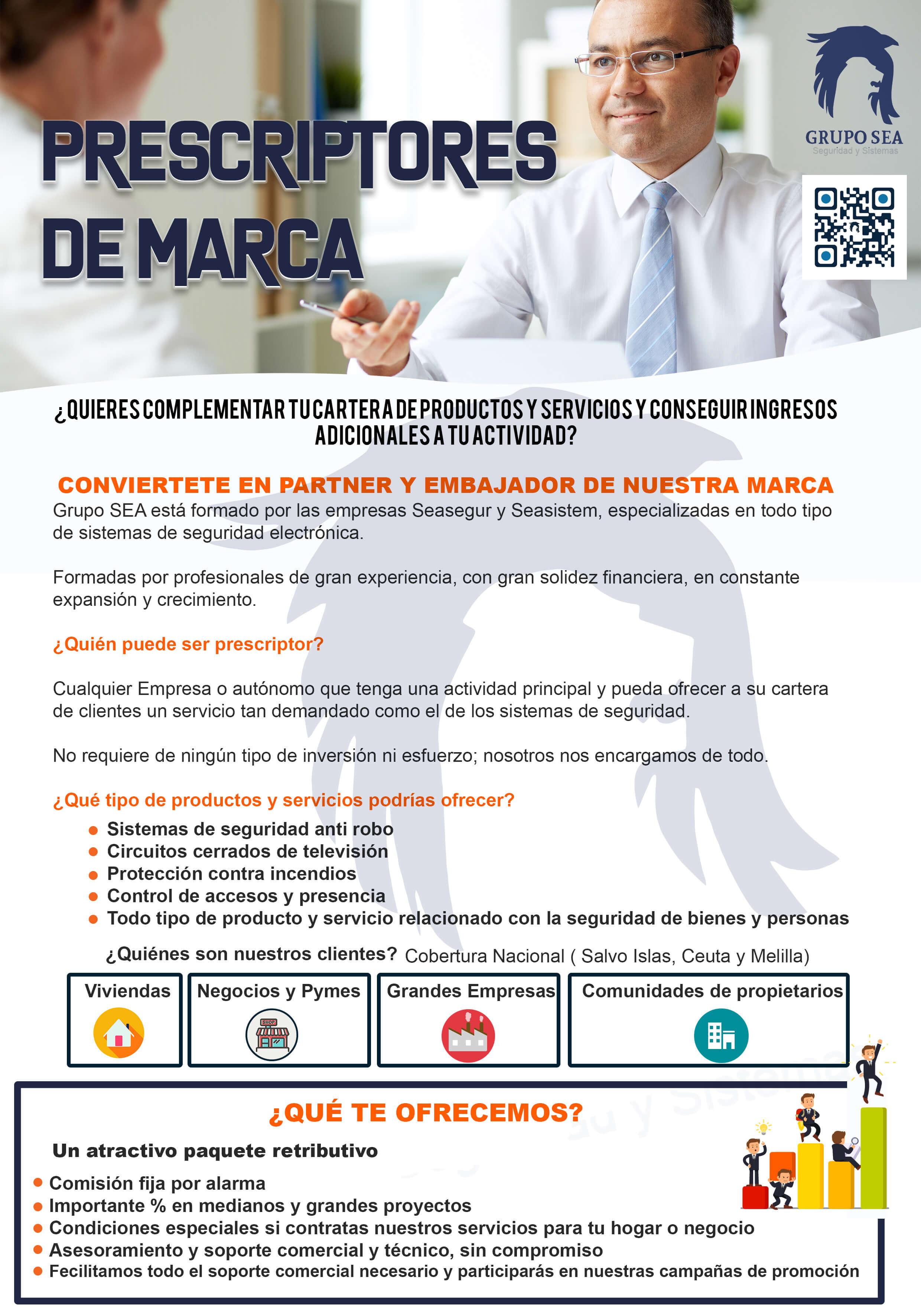 PRESCRIPTORES DE MARCA