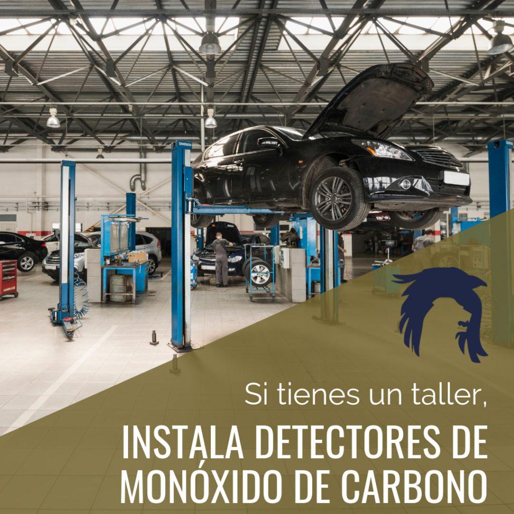 DETECTORES DE MONOXIDO DE CARBONO EN TALLERES