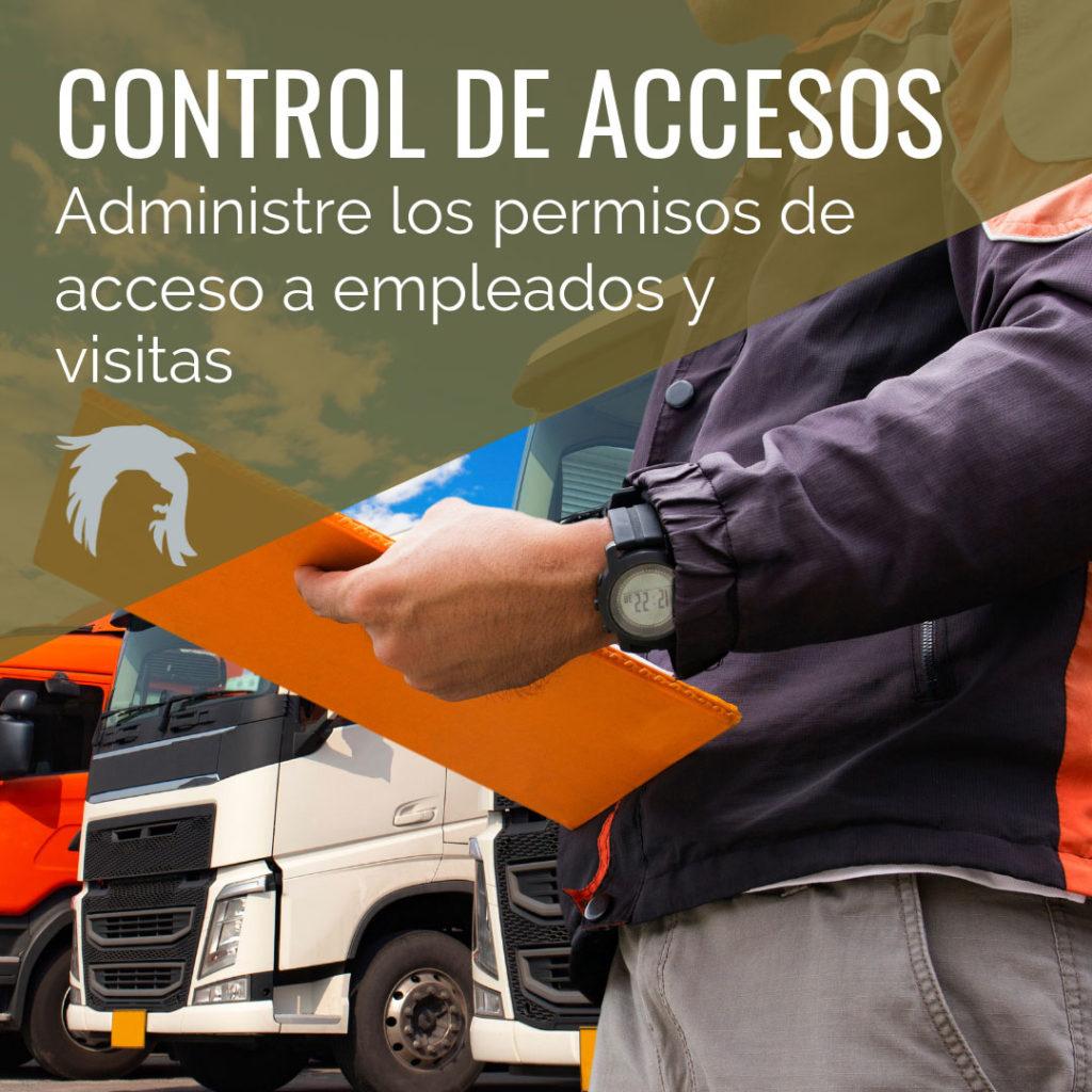 control de accesos naves industriales